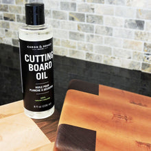 Load image into Gallery viewer, Caron & Doucet - Coconut Cutting Board Oil & Butcher Block Oil - 100% Plant Based, Made From Refined Coconut Oil, Does Not Contain Petroleum (Mineral Oil). (8oz Plastic)