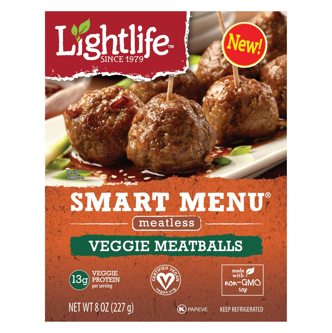 Lightlife, Veggie Meatballs, 8 oz