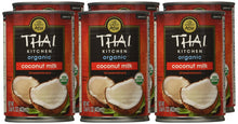 Load image into Gallery viewer, Thai Kitchen Organic Unsweetened Coconut Milk, 13.66 fl oz , Pack of 6