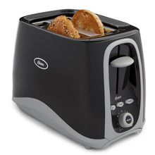 Load image into Gallery viewer, Oster 2-Slice Toaster, Black (006332-000-000)