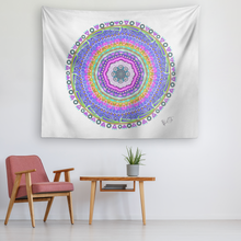 Load image into Gallery viewer, Gratitude Mandala Tapestry