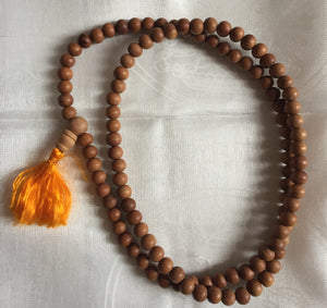 Sandalwood Mala, 5mm