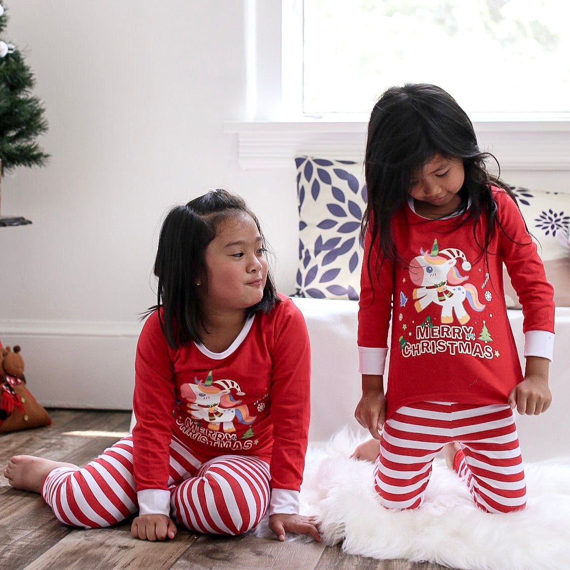 Christmas Unicorn Pajama
