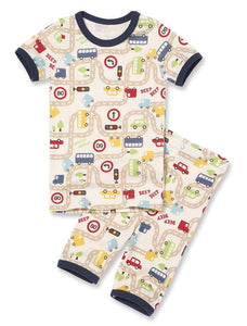 Organic Short sleeved Pjs-Driver