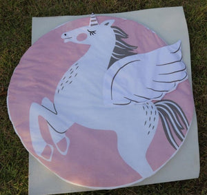 Pink Unicorn Sleeping Pad
