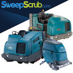 Commercial and Industrial Sweeper Scrubber Machines