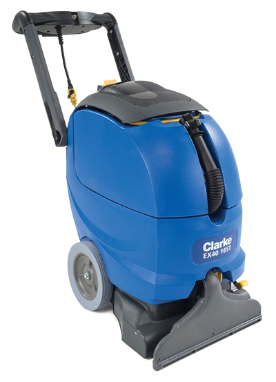 New Clarke EX40 16ST 18LX Commercial Carpet Extractor
