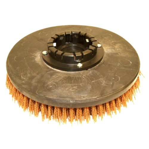 13 Inch disc heavy grit abrasive scrub brush. Fits Clarke Encore L2426, Focus II Midsize (26 Inch)  Fits Aftermarket Nilfisk Advance 11440A Brush