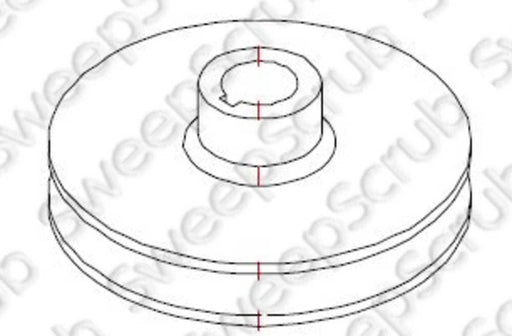 Nilfisk Advance VF52009G Pulley