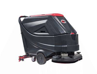"Viper AS6690T 26"" Disc Walk-Behind Floor Scrubber - New"