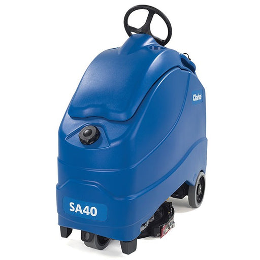 New Clarke SA40 Stand-On Disc Scrubbers