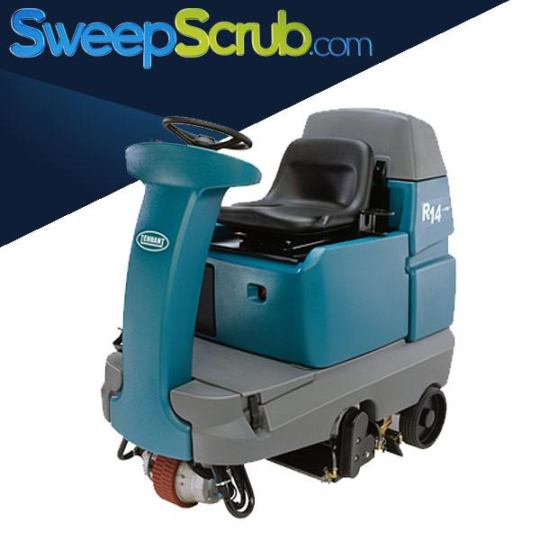 Used Tennant R14 Ride On Carpet Extractor For Sale
