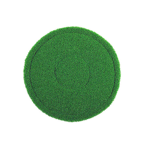 "20"" Green Round Tile and Grout Pad - Sold Individually - Square Scrub SS P0020RGTG"
