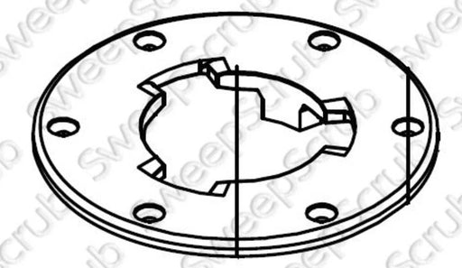 Nilfisk Advance VF002-2 Clutch Plate