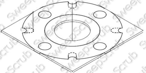 Nilfisk Advance 54435A Gasket