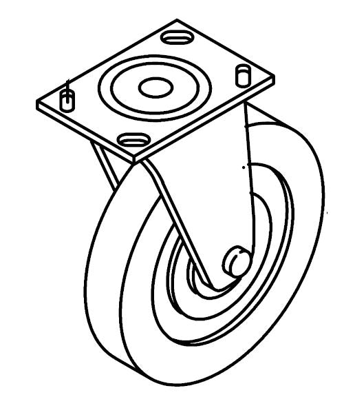 Aftermarket Tennant 103004 Caster Wheel