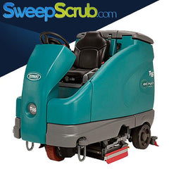 used tennant t16 floor scrubber, used tennant rider scrubbers