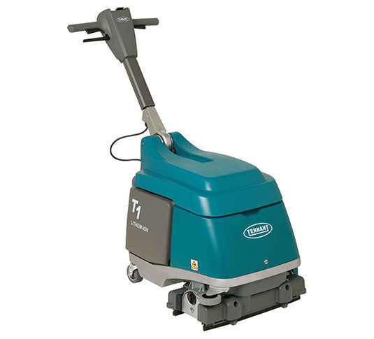 Refurbished Tennant T1 Lithium Ion Battery Powered Walk Behind Floor Scrubber