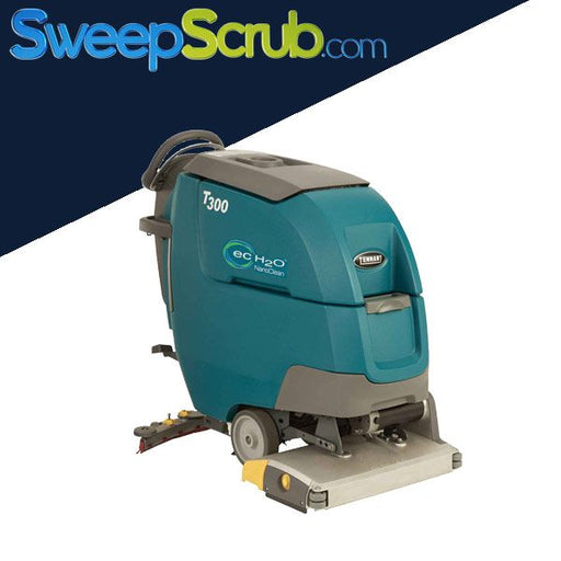 "Tennant T300 20"" Cylindrical Walk Behind Floor Scrubber"