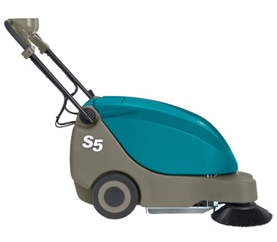 Tennant S5 Compact Battery-Powered Walk-Behind Sweeper - Refurbished