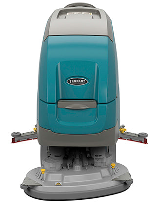 "Tennant T500e 32"" Disk Battery Walk Behind Floor Scrubber - Refurbished"