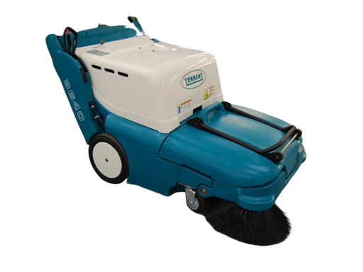 Refurbished Tennant 3640 Gasoline Powered Walk Behind Floor Sweeper