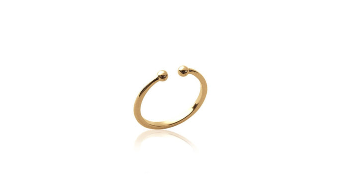 Ring Piercing gold