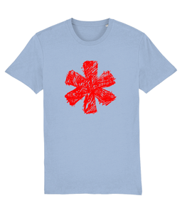 Sketch Asterisk - Red - Classic tee