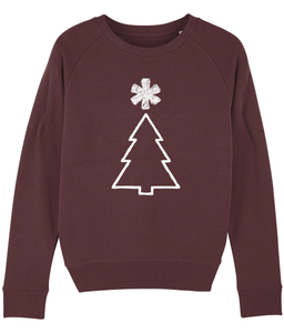 Xmas tree - Ladies Sweatshirt