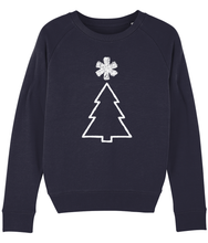 Load image into Gallery viewer, Xmas tree - Ladies Sweatshirt