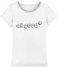 Load image into Gallery viewer, All Good - Black - Ladies tee