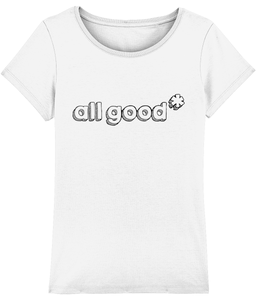 All Good - Black - Ladies tee