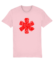 Load image into Gallery viewer, Sketch Asterisk - Red - Classic tee