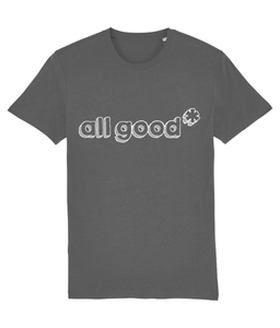 All Good - White - Classic tee