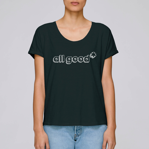 All Good - Ladies slouch fit tee