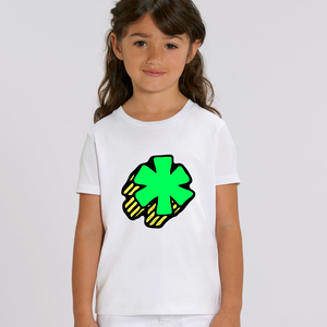 3D Asterisk - Green - Kids tee