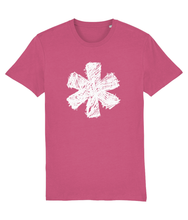 Load image into Gallery viewer, Sketch Asterisk - White - Classic tee