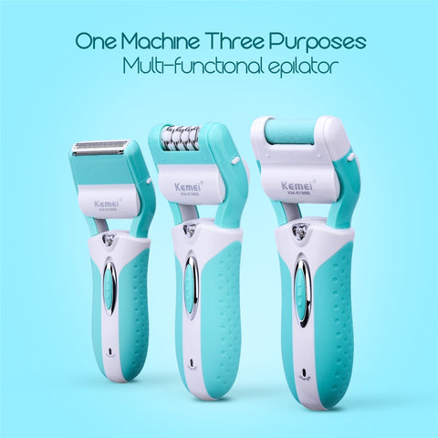 3 in 1 Epilator Electric Hair Removal