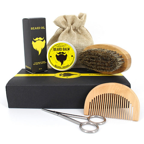 Organic Beard Oil Hair Loss Products Kit