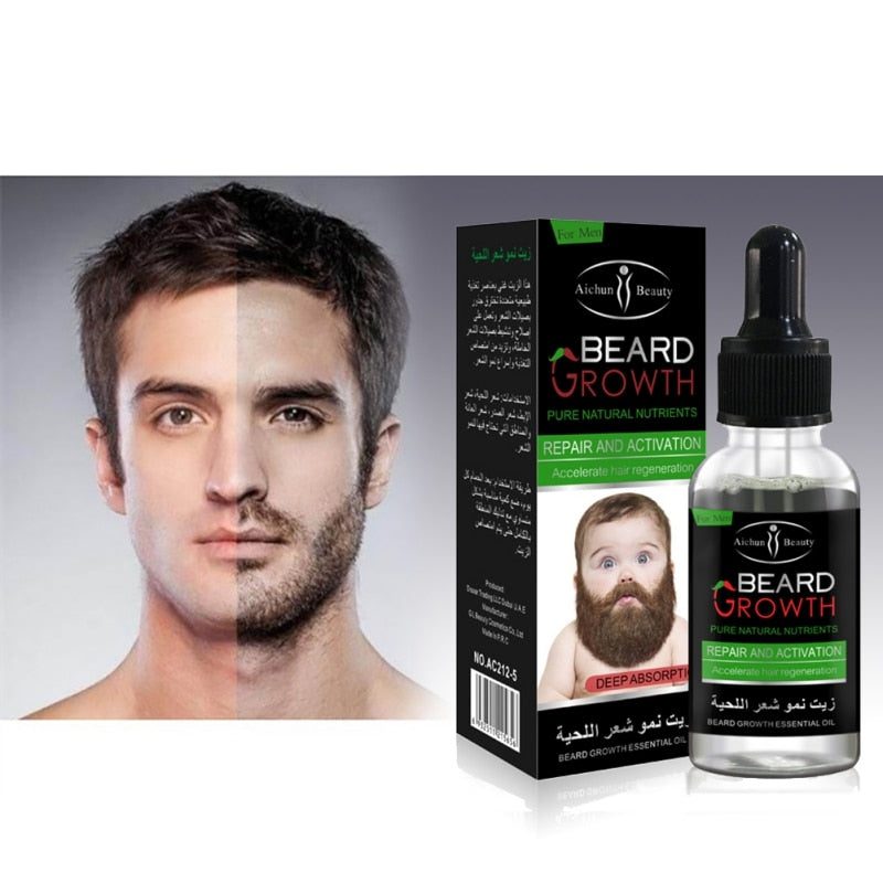 Hair Growth Liquid Beard Oil