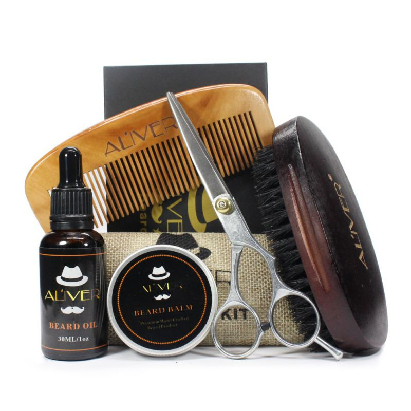 Moustache Cream Beard Oil Kit