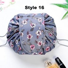 Load image into Gallery viewer, Drawstring Cosmetics Bag
