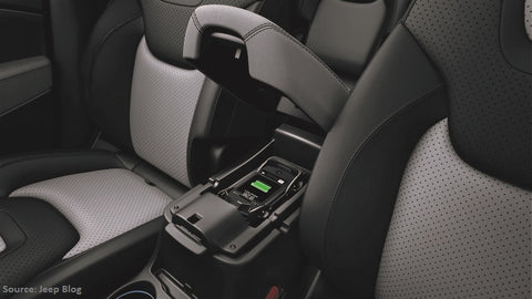 Jeep Wireless Charging Station