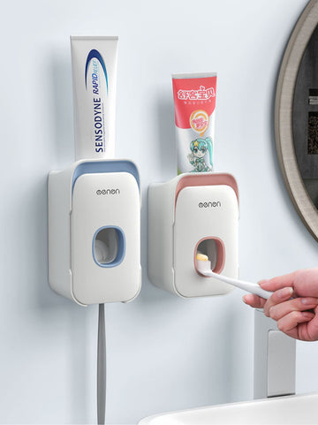 Wall Mounted Toothpaste Dispenser