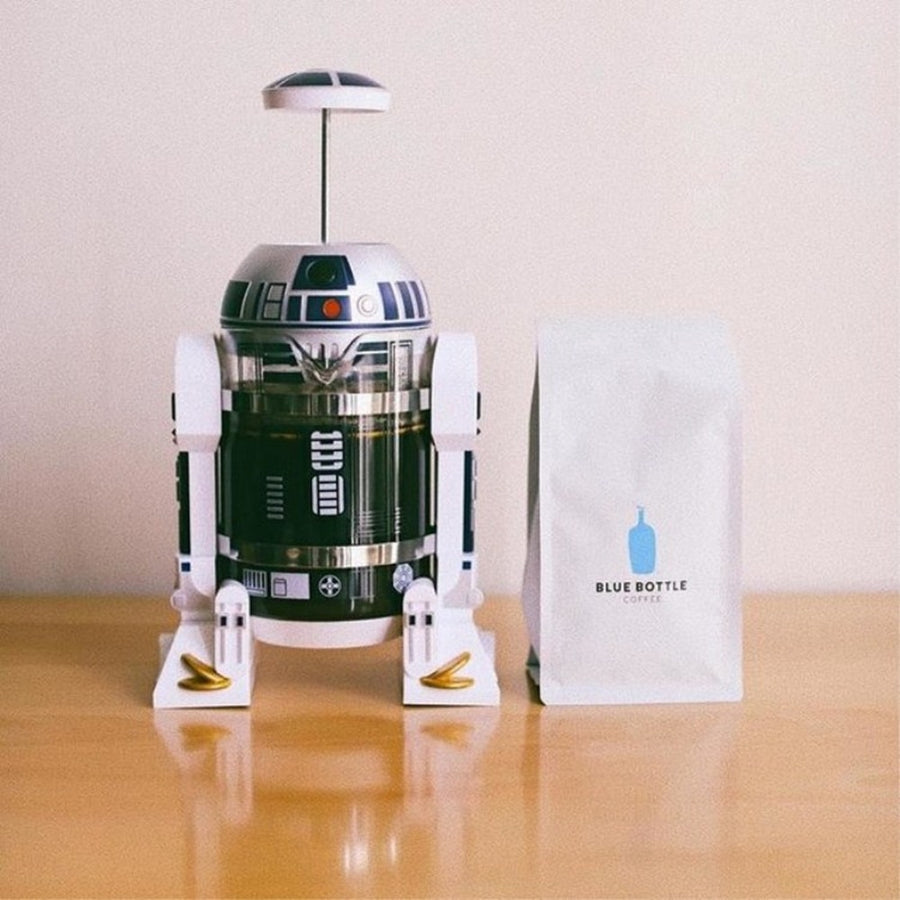 Star Wars R2-D2 French Press Coffee Maker