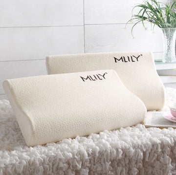 Two MLILY pillows next to each other