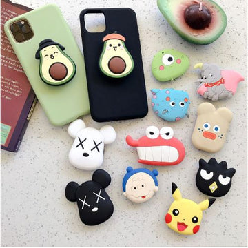 Cartoon Mobile Phone Airbag and Holder
