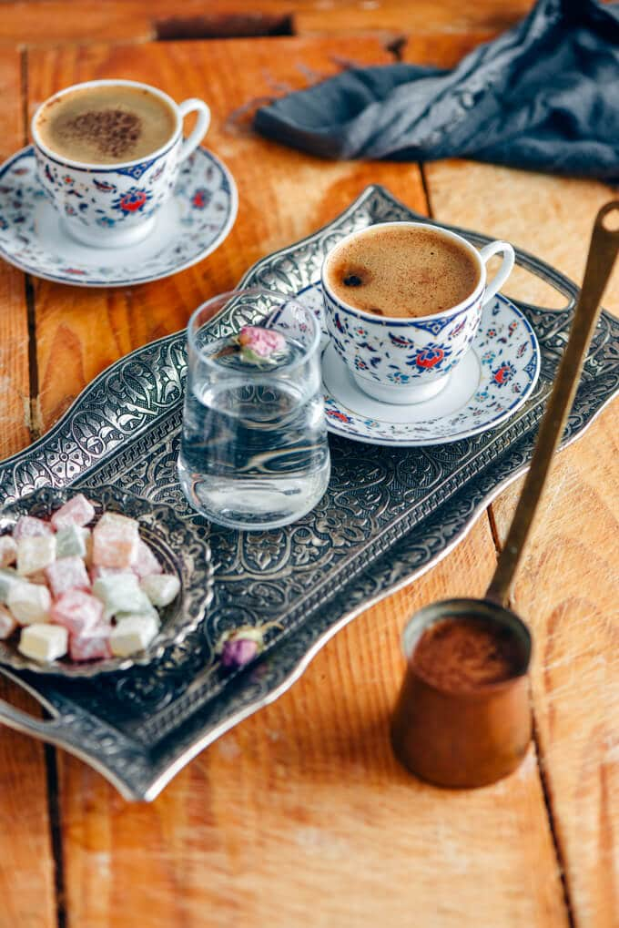 Turkish Coffee: The Process