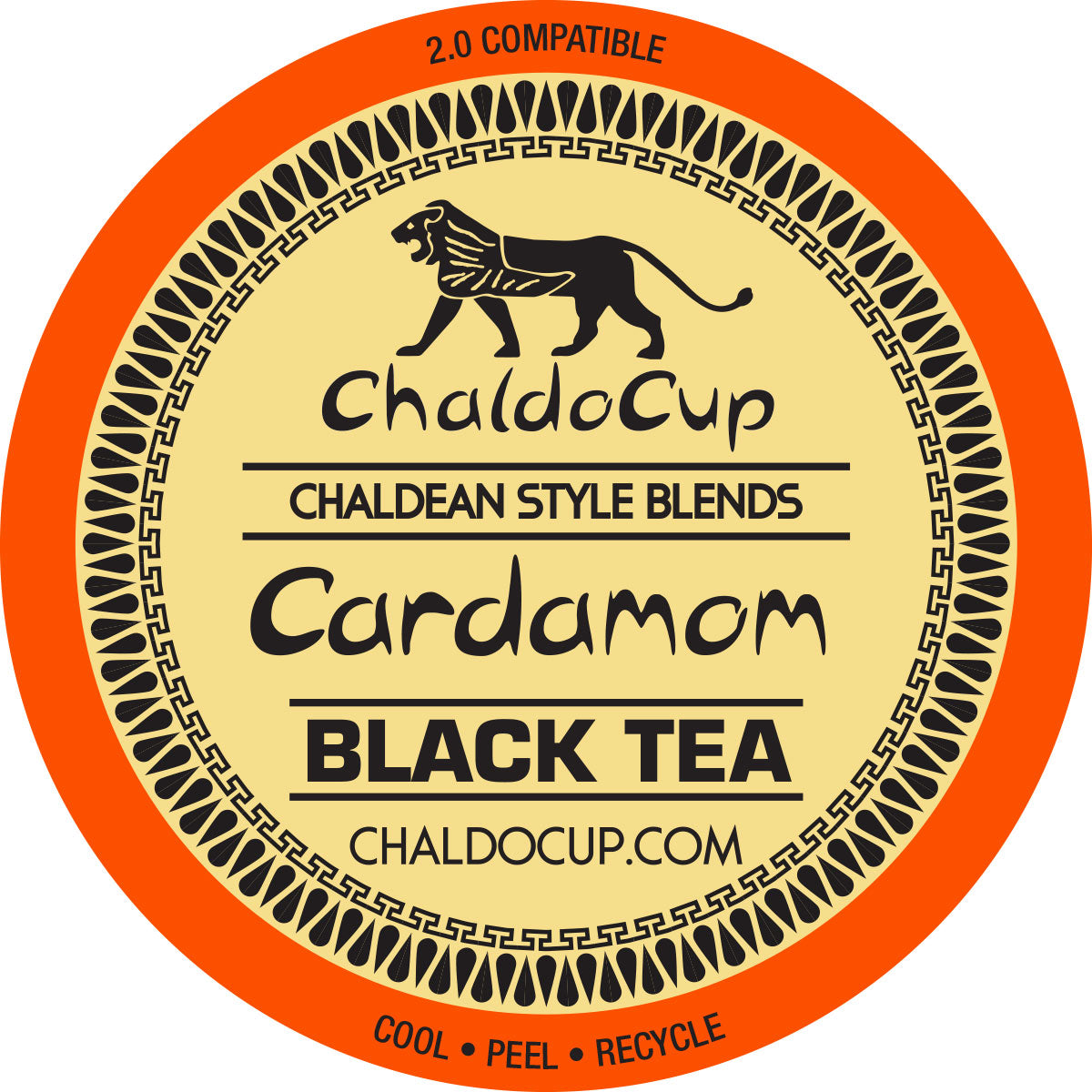 ChaldoCup Cardamom Black Tea for Keurig