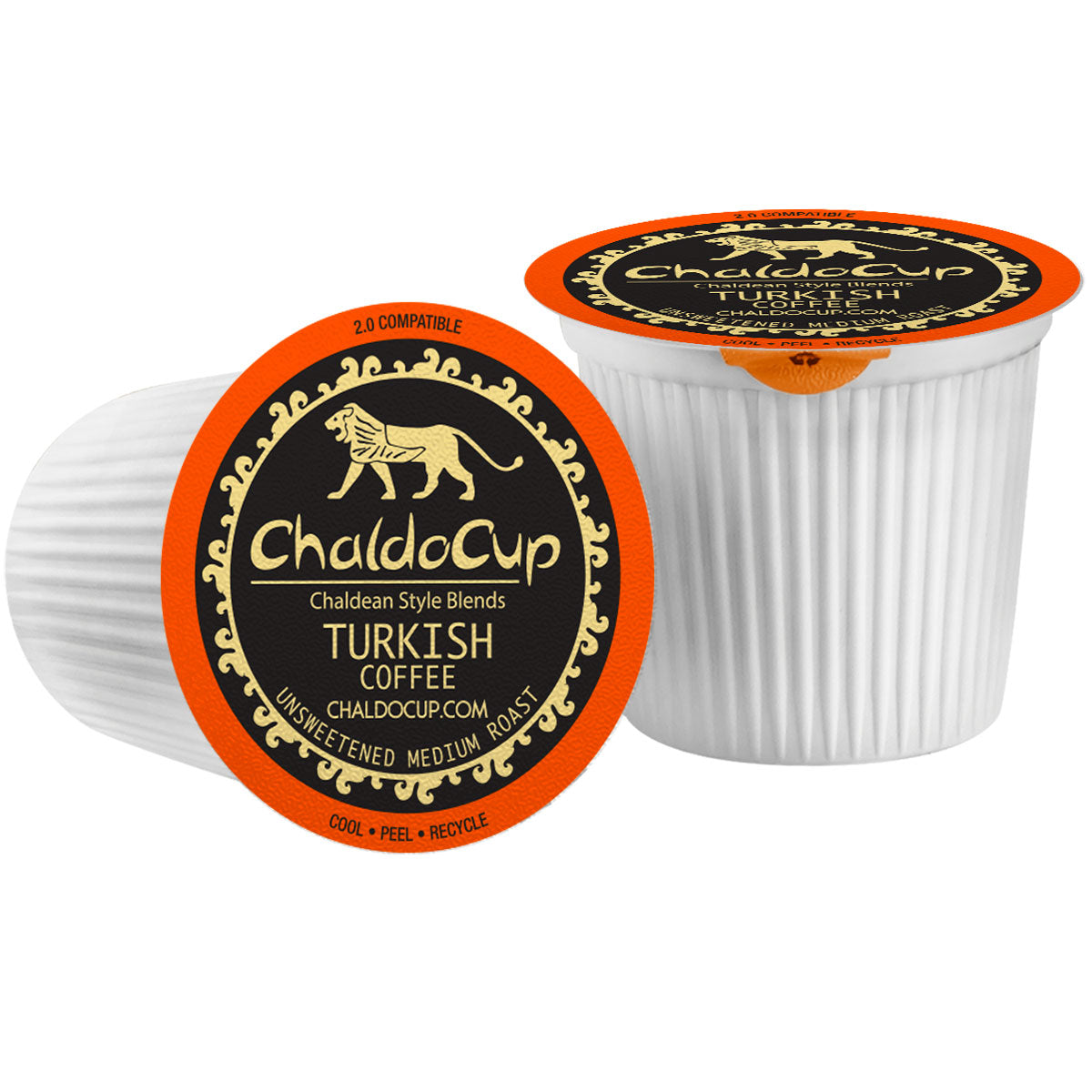 ChaldoCup Turkish Coffee Cardamom Medium Roast for Keurig
